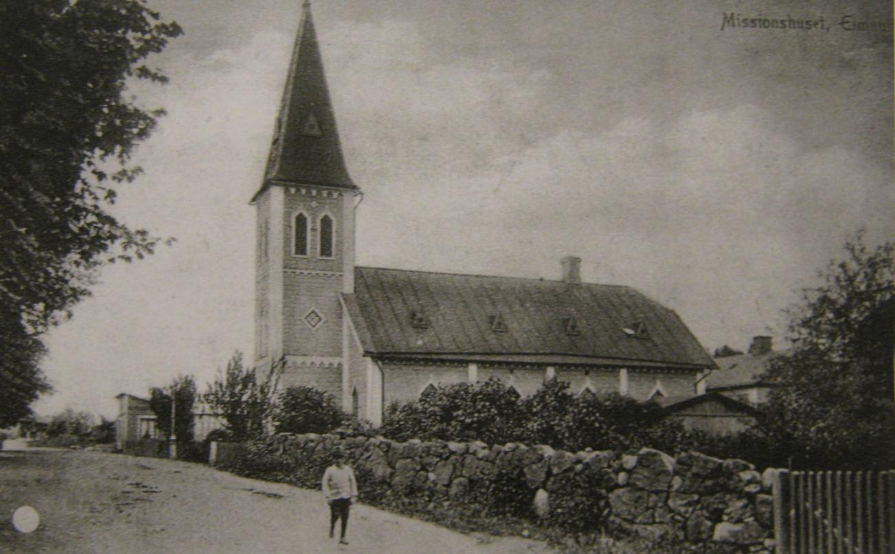 Missionskyrkan samt Wilner Perssons fotografiatelj�