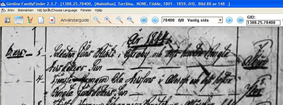 Search: Skne ln Husfrhrslngder(omr-scanner.net:SE/LLA/13189